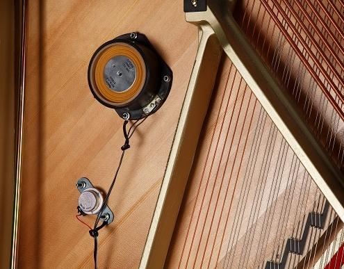 KAWAI Klavier K-500 Aures-Transducer