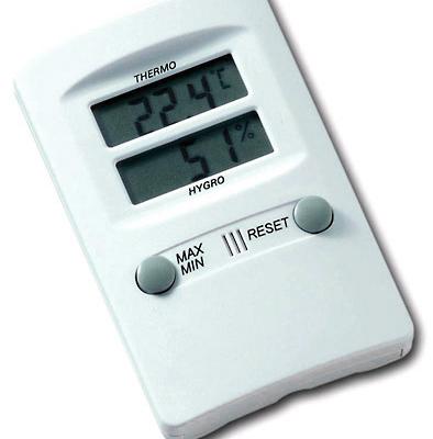 Elektronisches Hygrometer mit Thermometer